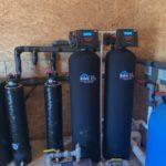 Space-Saving Water Softener System